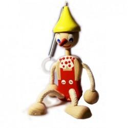Pinocchio mit Frühlingsrot