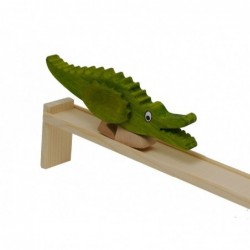 Crocodile with track
