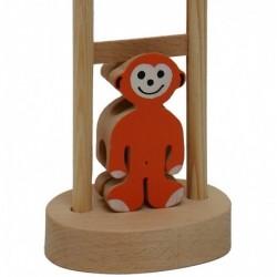 Affe mit Leiter