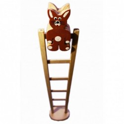 Kaninchen mit Leiter
