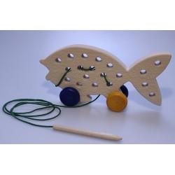 Fisch zum Fädeln