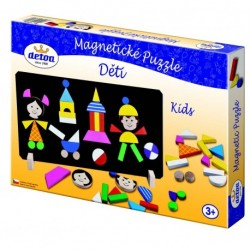 Magnetic Puzzle Kids