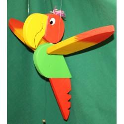 Flying parrot big