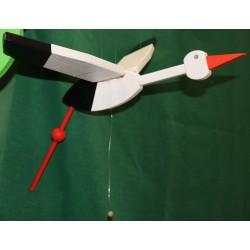 Flying stork small