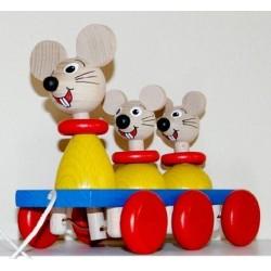 3 Mäuse zum Ziehen