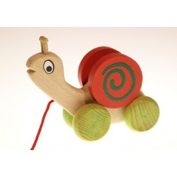 Snail for pulling