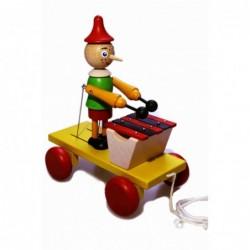Pinochio and xylophone