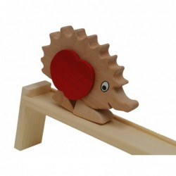 Hedgehog with track