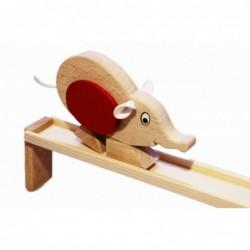 Maus auf der Bahn